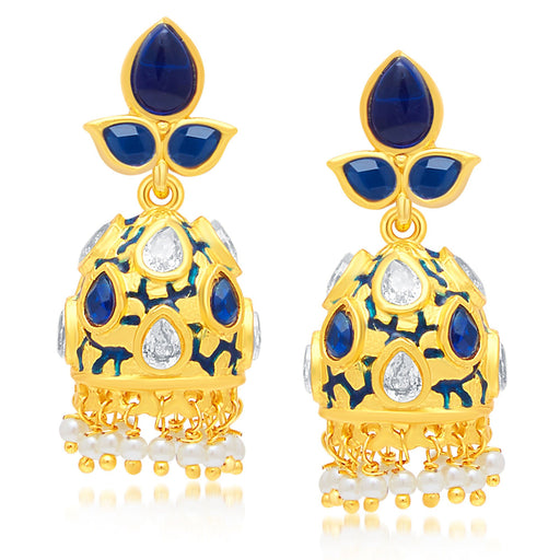 Sukkhi Designer Gold Plated Jhumki Earring For Women