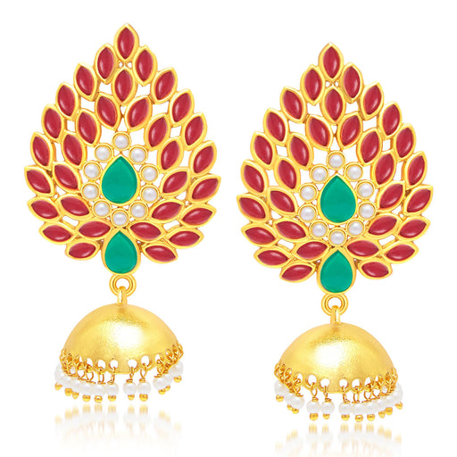 Sukkhi Amazing Gold Plated Jhumki Earring For Women