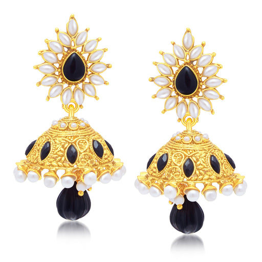 Sukkhi Charming Gold Plated Jhumki Earring For Women