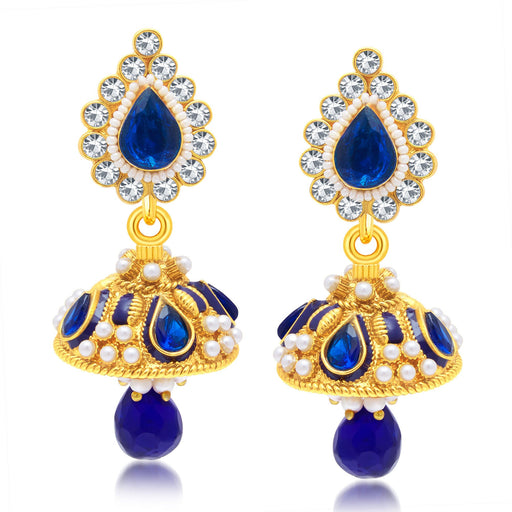 Sukkhi Splendid Gold Plated Jhumki Earring For Women