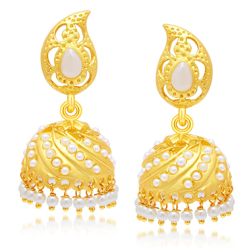Sukkhi Appealing Gold Plated Jhumki Earring For Women