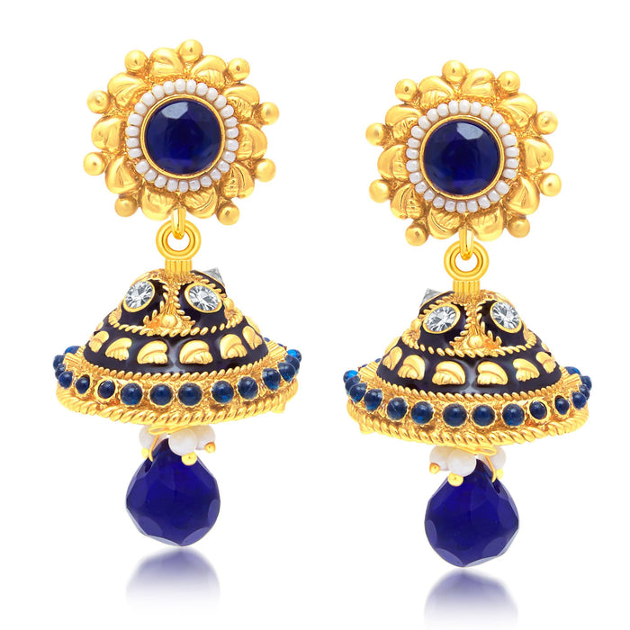 Sukkhi Resplendent Gold Plated Jhumki Earring For Women