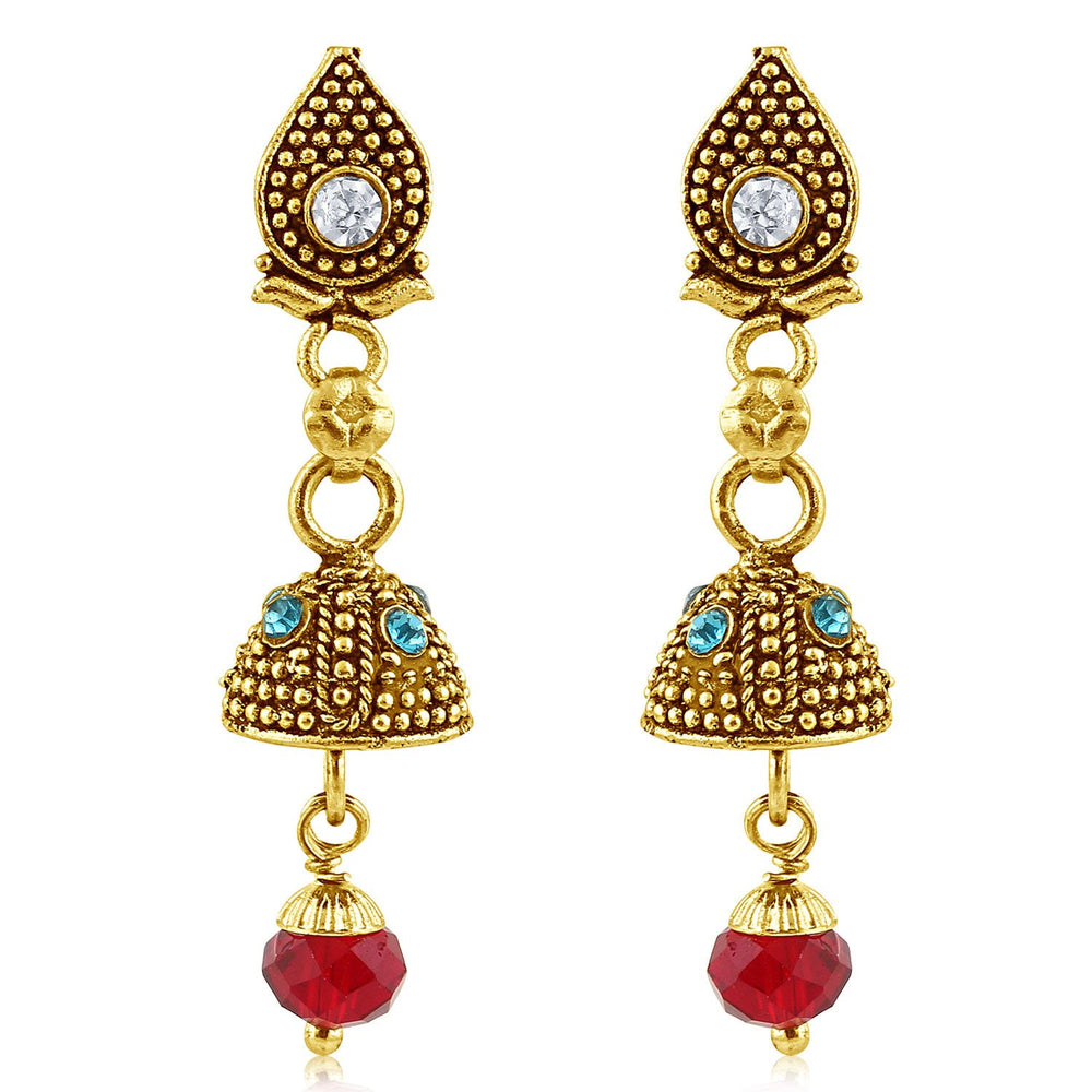 Sukkhi Fashionable Gold Plated Jhumki Earring For Women