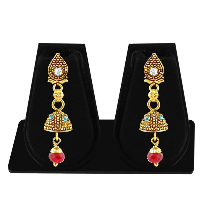 Sukkhi Fashionable Gold Plated Jhumki Earring For Women-1