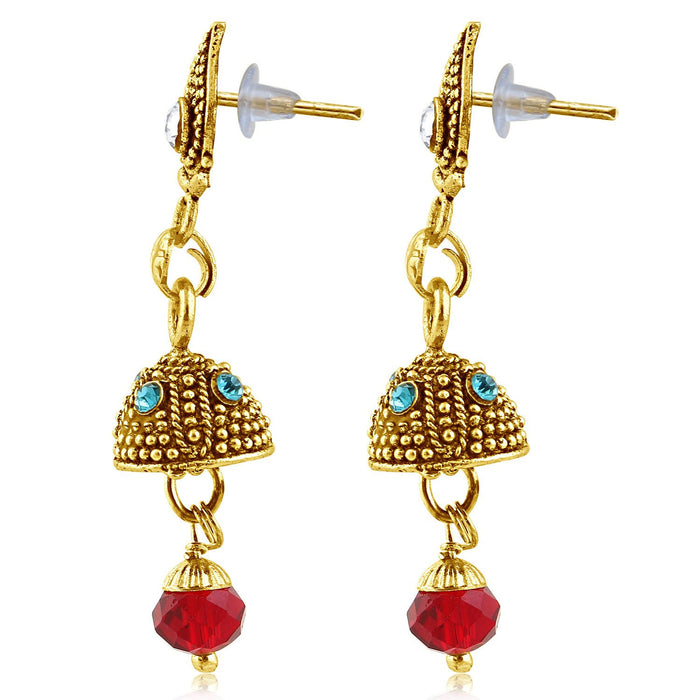 Sukkhi Fashionable Gold Plated Jhumki Earring For Women-2