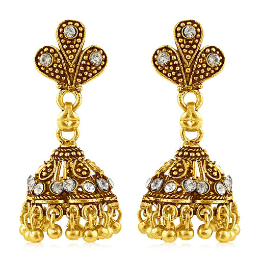 Sukkhi Modish Gold Plated Jhumki Earring For Women
