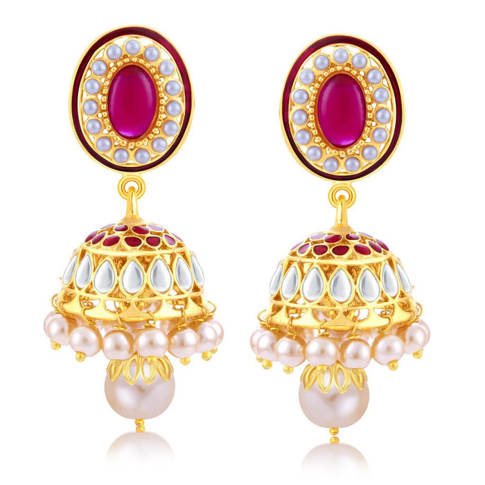 Sukkhi Lavish Gold Plated Jhumki Earring For Women