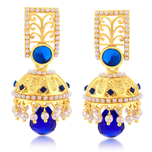 Sukkhi Attractive Gold Plated Jhumki Earring For Women