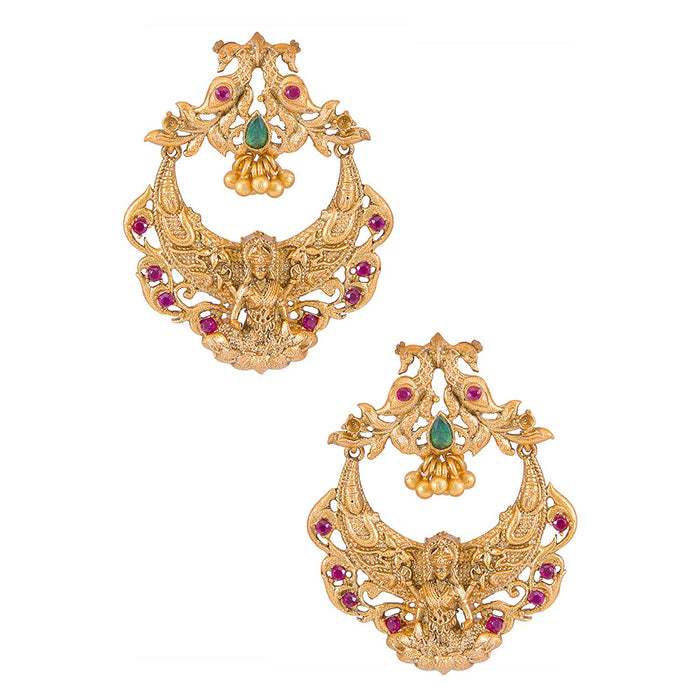 Sukkhi Classic Laxmi Gold plated Earring for women