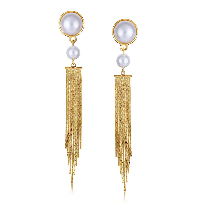 Sukkhi Elegant Gold plated Tassel Earring for Women