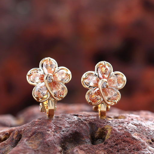 Sukkhi Modish Gold Plated Floral Earring for Women