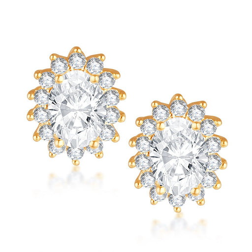 Sukkhi Shimmering Rhodium Stud Earring  for women