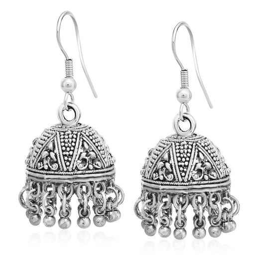 Sukkhi Dazzling Oxidised Jhumki Earring For Women