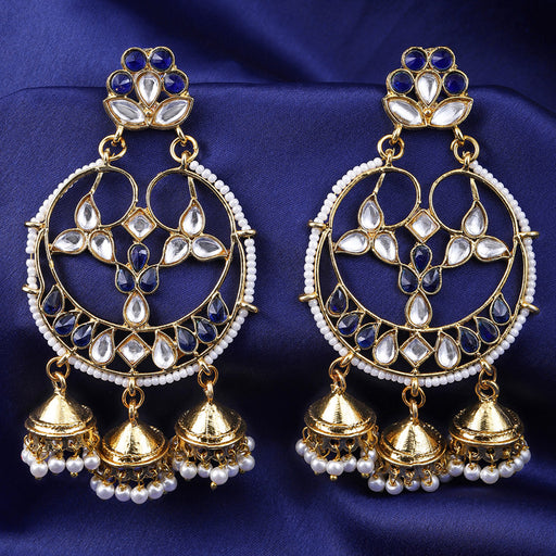 Sukkhi Incredible Gold Plated Jhumki Earring for Women