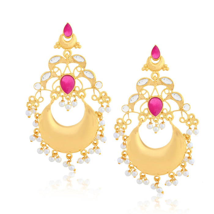 Sukkhi Marvellous Chand Bali Gold Plated Earring for women