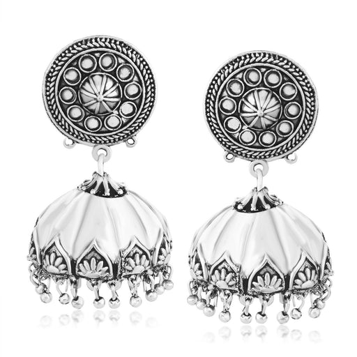 Sukkhi Gleaming Jhumki Oxidised Earring for women
