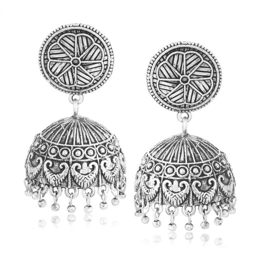 Sukkhi Resplendent Jhumki Oxidised Earring for women