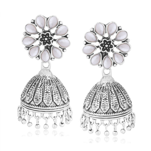 Sukkhi Glistening Oxidised Jhumki  Earring for women