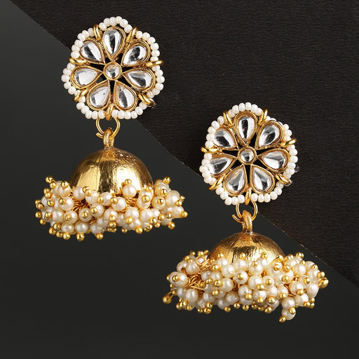 Sukkhi Sensational Gold Plated Jhumki Earring for Women