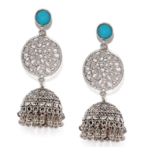Sukkhi Exclusive Oxidised Plated Jhumki Earring for Women