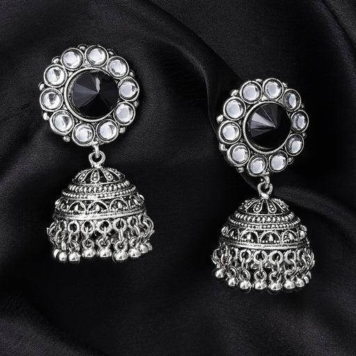 Sukkhi Attractive Oxidised Plated Jhumki Earring for Women