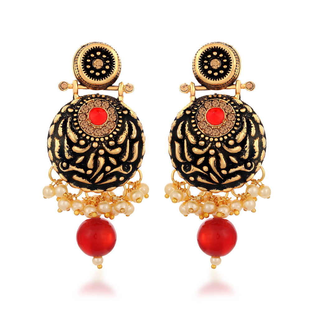 Sukkhi Artistically LCT Mind Collection Gold Plated Earring for Women