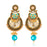 Sukkhi Youthful LCT and Pearl Gold Plated Earring for Women
