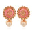 Sukkhi Sleek LCT Mint Meena Collection Gold Plated Earring for Women