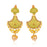 Sukkhi Modern Pearl Mint Meena Collection Gold Plated Earring for Women