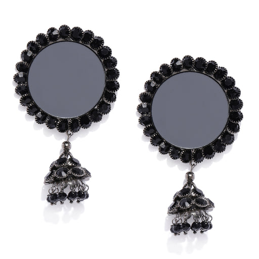 Sukkhi Excellent Oxidised Plated Jhumki Earring for Women