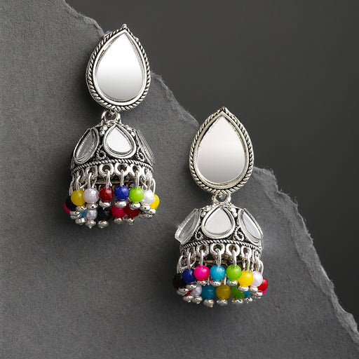 Sukkhi Lavish Oxidised Plated Jhumki Earring for Women