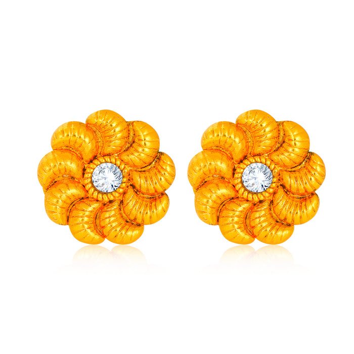 Sukkhi Ritzy Kundan Gold Plated Earring for Women