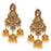 Sukkhi Wavy Gold Plated Dangle Jhumki Earring for Women