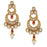 Sukkhi Gold Plated Chand Bali Earring for Women