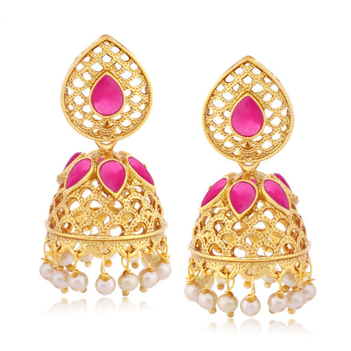 Sukkhi Marvellous Gold Plated Jhumki  Earring for women