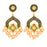 Sukkhi Elegant Gold Plated Pearl Chand Bali Earring for Women