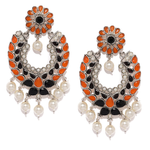 Sukkhi Spectacular Oxidised Plated Chand Bali Earring for Women