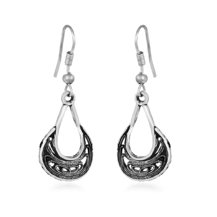 Sukkhi Spectacular Oxidised Drops Earring for Women