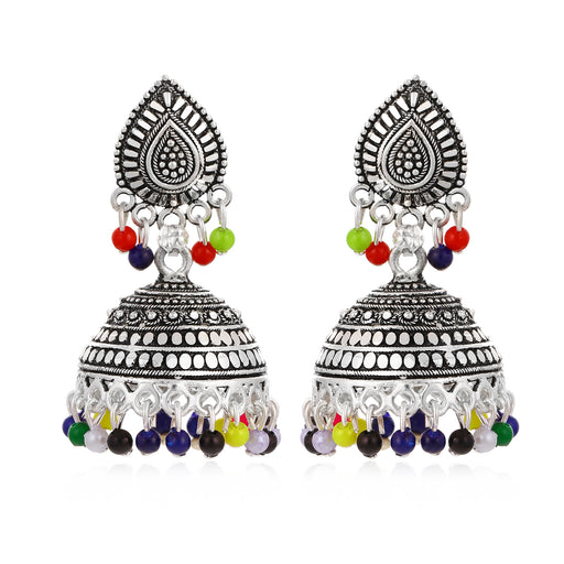 Sukkhi Beguiling Oxidised Jhumki Earring for Women