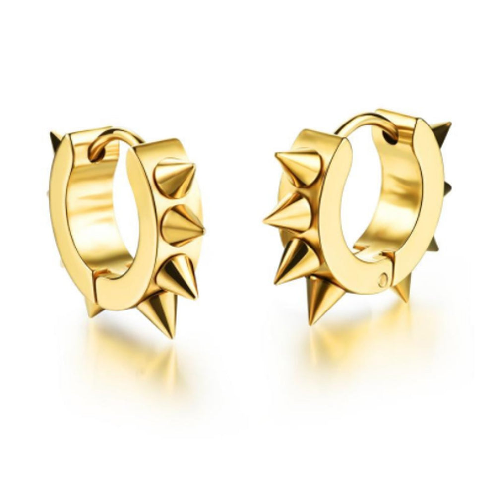 Sukkhi Attractive Spiky Gold Plated Earring for Women