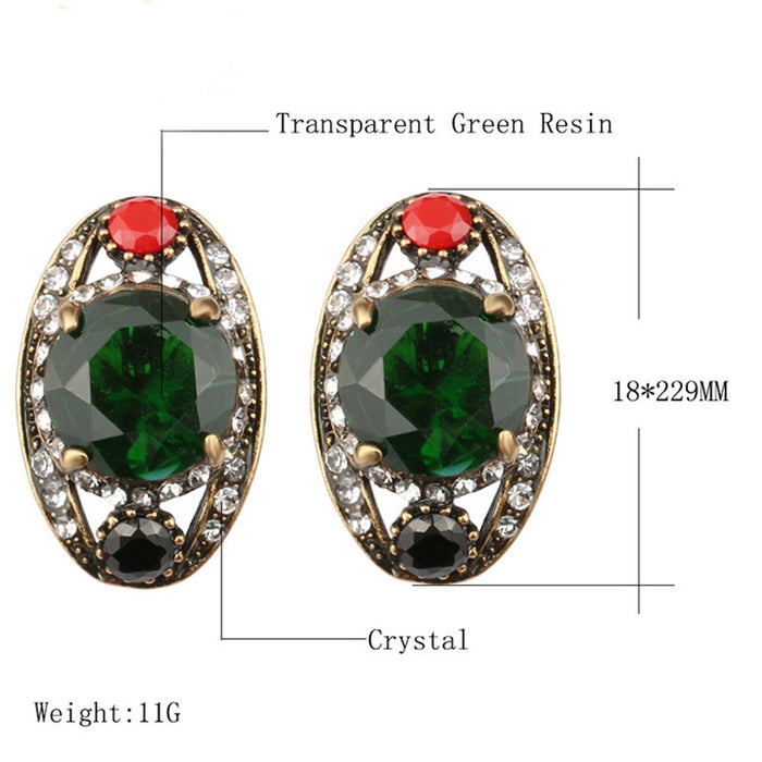 Sukkhi Dazzling Crystal Stone Gold Plated Earring for Women