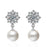 Sukkhi Adorable Cubic Zirconia Rhodium Plated Earring for Women