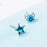 Sukkhi Marvellous Moon and star Crystal Rhodium Plated Earring for Women
