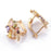 Sukkhi Exotic Crystal Gold Plated Multi Colour Earring for Women