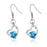 Sukkhi Marvellous Valentine Heart Crystal Rhodium Plated Earring for Women