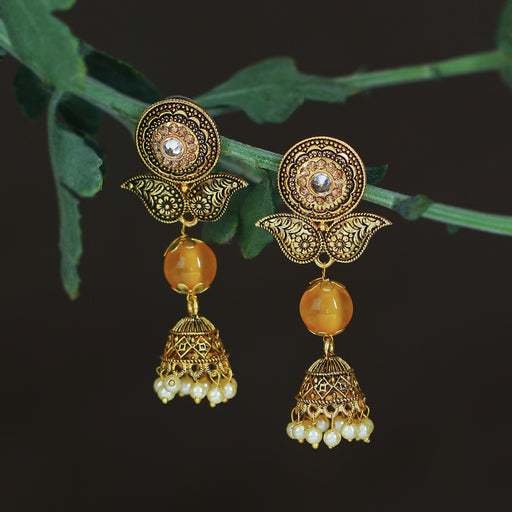 Sukkhi Elegant LCT Gold Plated Jhumki Earring For Women