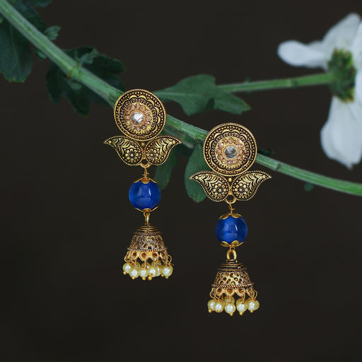 Sukkhi Traditional LCT Gold Plated Jhumki Earring For Women