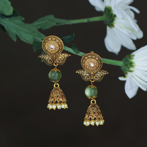 Sukkhi Charming LCT Gold Plated Jhumki Earring For Women