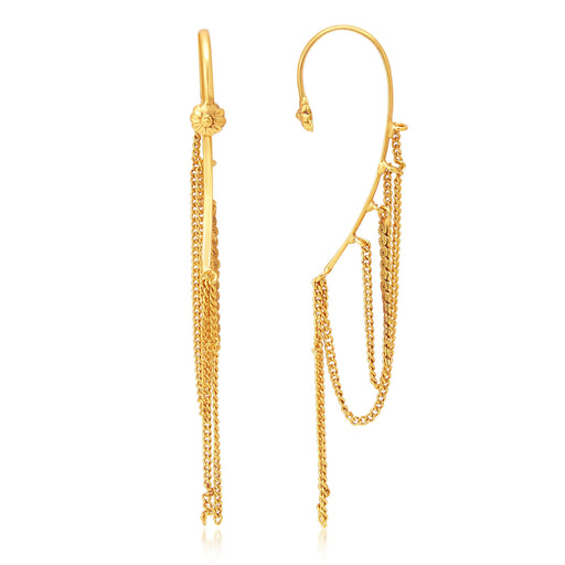 Sukkhi Exquisite Gold Plated Earcuff Ear-Cuff For Women