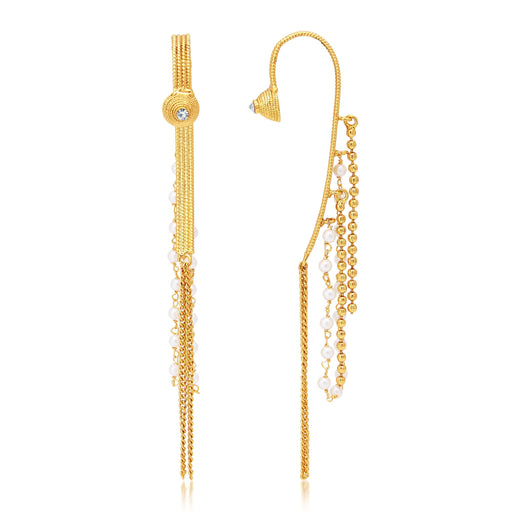 Sukkhi Finely Gold Plated Earcuff Ear-Cuff For Women